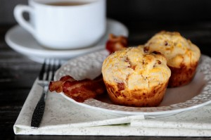 Bacon Muffins Horiz