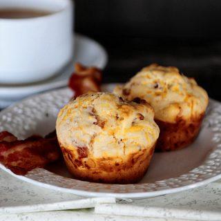 Bacon Muffins Vert
