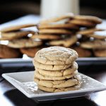 Soft and Chewy Vanilla Butter Cookies Recipe