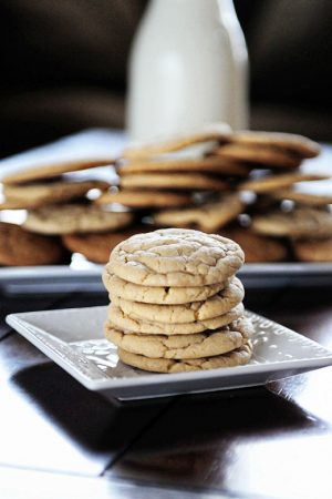 Recipe: Soft & Chewy Vanilla Butter Cookies