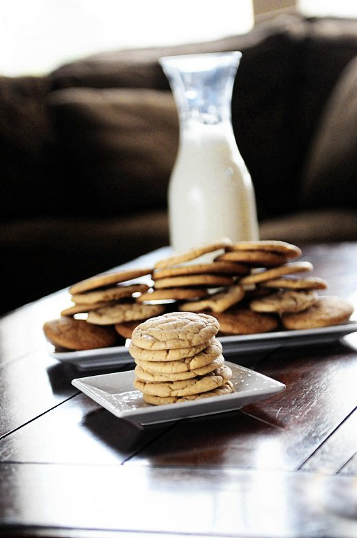 Soft and Chewy Vanilla Butter Cookies Recipe from Dine & Dish