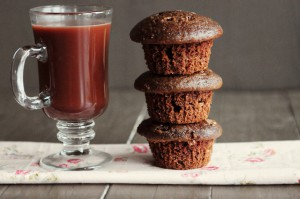 Cafe Escapes Dark Hot Chocolate Muffins and a Birchbox Giveaway