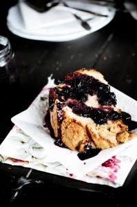 PBJ Cake Sliced