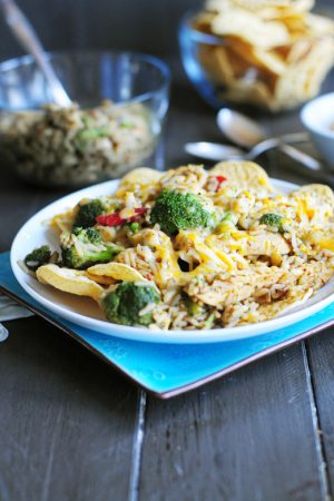 Stretch Yourself {Zatarain's Smothered Chicken and Rice}