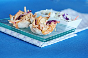 smBuffalo Chicken Wonton Cups 2