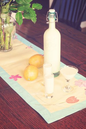 Not As Planned {Recipe: Homemade Creamy Limoncello}