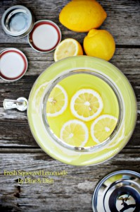 Fresh Squeezed Lemonade {Giveaway: Overstock Stylesetter Beverage Dispenser} CLOSED