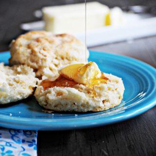 Blog biscuits Honey