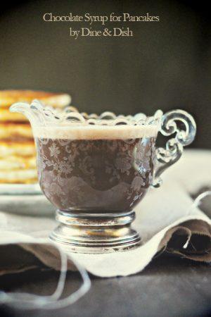 Even Better {Recipe: Creamy Chocolate Pancake Syrup}
