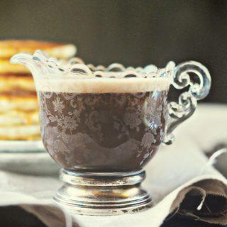 Chocolate Pancake Syrup