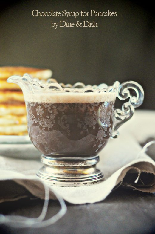 Creamy Chocolate Pancake Syrup