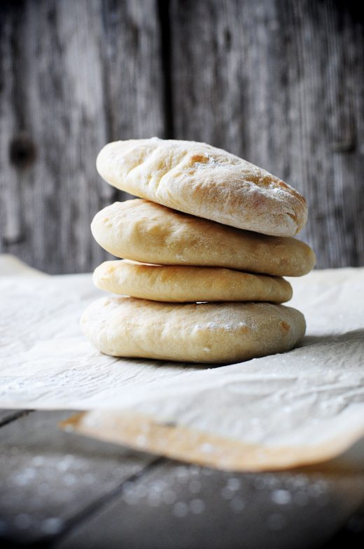 Homemade Pita Bread Recipe from Dine and Dish