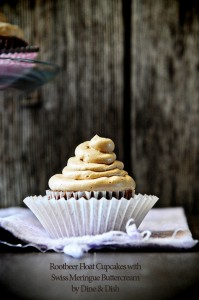 Great Expectations {Recipe: Root Beer Float Cupcakes with Swiss Meringue Buttercream}