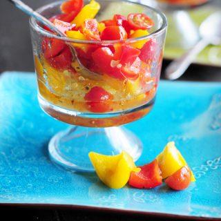 blog text Robust Bell Pepper Salad