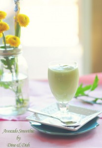 Focus {Recipe: Avocado Smoothie or Milkshake}