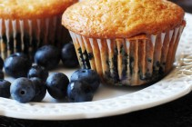 Cream Cheese Blueberry Muffins
