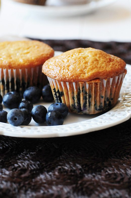 Philadelphia Cream Chese Blueberry Muffins