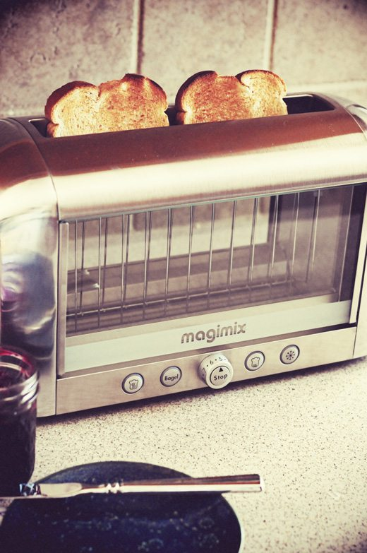 magimix vision toaster a giveaway for the coolest toaster around dine and dish. Black Bedroom Furniture Sets. Home Design Ideas
