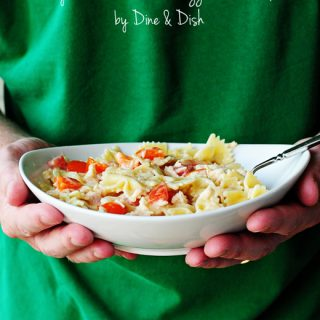 Honey Mustard Chicken and Pasta Salad by DIne & Dish