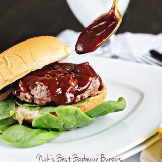 Nick's Best Barbecue Burger