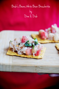Cooking With Friends {Recipe: Bush's Beans White Bean Bruschetta}