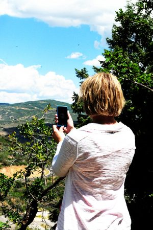 Hiking in Park City with My Windows Phone