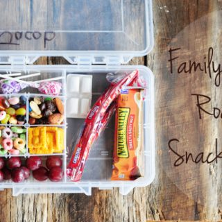 Family Vacation Road Trip Snack Solution for Kids