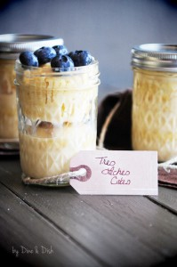 Desserts in Jars Cookbook Giveaway {Recipe: Tres Leches Cakes} – CLOSED