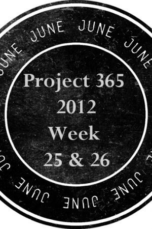 Project 365 2012 – Week 25 & 26 – A Photo a Day Journey