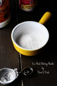 How to Make Baking Powder Substitute