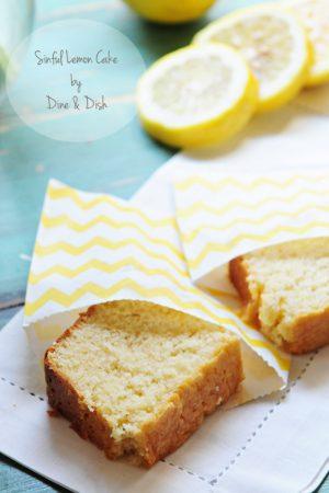 Holding On To Summer {Recipe: Sinful Lemon Cake}