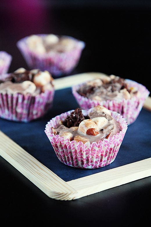 Weight Watchers Mini Rocky Road Ice Cream Pies