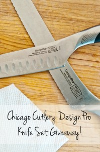 Chicago Cutlery DesignPro Knife Set Giveaway! CLOSED
