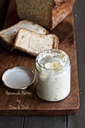 Making Homemade Butter with the Blendtec Blender {Blendtec Giveaway!!}