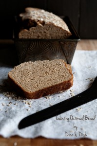 A Look at the Next 365 Days {Recipe: Country Oatmeal Bread}