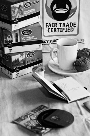 Fair Trade Month and a Keurig Mini Plus Brewer Giveaway!