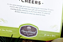 Harry and David Cheers Card