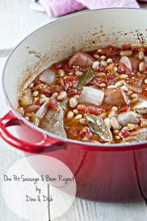 Almost There {Recipe: One Pot Sausage and Bush's Beans Ragout}