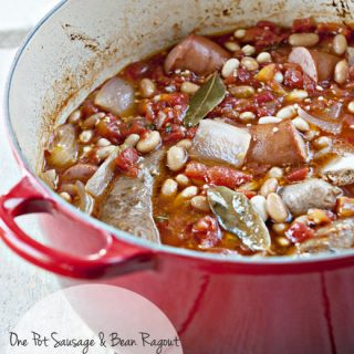 One Pot Sausage and Bean Ragout