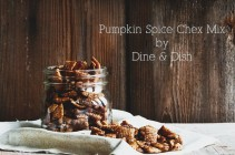 Pumpkin Spice Chex Mix by www.dineanddish.net
