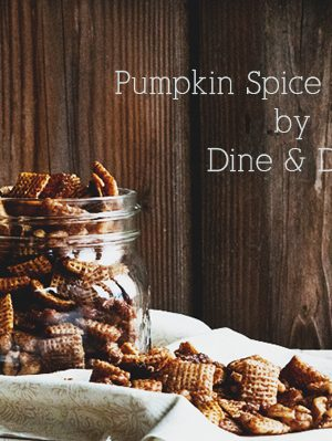 A New Look {Recipe: Pumpkin Spice Chex Snack Mix}