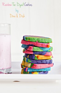 Simple Joy {Recipe: Rainbow Tie-Dyed Sugar Cookies}