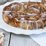 Breakfast Dessert Recipe Apple Cider Glazed Apple Pie Rolls