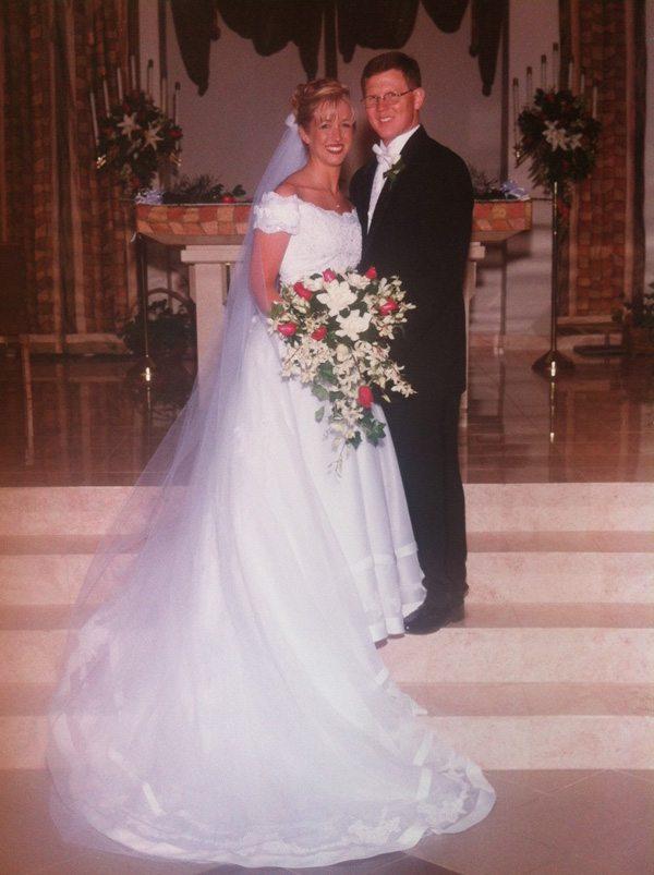 13 Year Anniversary Wedding Picture