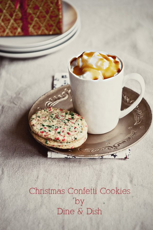Christmas Confetti Cookie Recipe from www.dineanddish.net