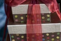Holiday Gift Giving Wtih Harry & David Tower of Chocolates Gift