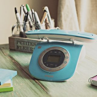 Turquoise VTech Retro Cordless Phone Giveaway