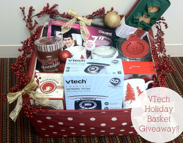 $300ARV VTech Retro Phone Holiday Gift Basket Giveaway