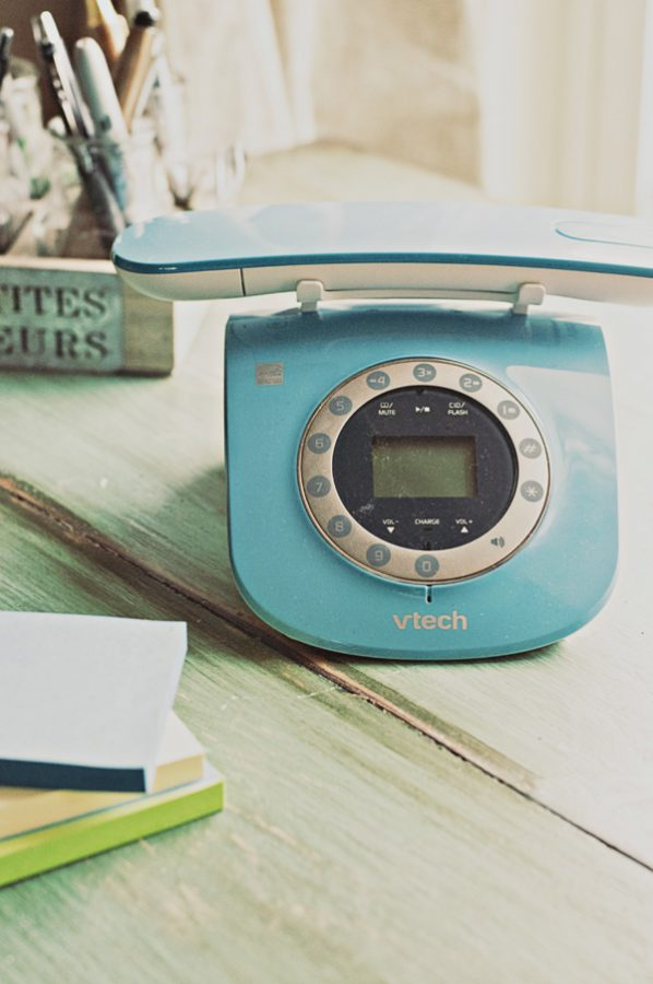 VTech Retro Cordless Phone with Answering Service and Caller ID