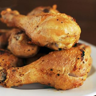 Our Favorite Baked Chicken Legs from Dine & Dish